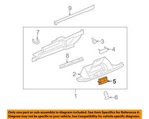 GM OEM Glove Box-Latch Handle 25960443