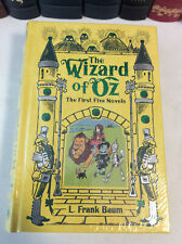 The Wizard of Oz - First Five Novels in one - leather-bound - illustrated