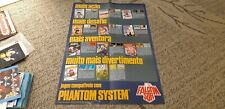 Poster Catalog of games compatible with - Phantom System / Nes Nintendo Brazil