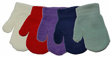 Baby Toddler Mittens Gloves Boys & Girls Assorted Colours Winter One Size