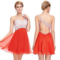 BEADED Short Mini Cocktail Dress Homecoming Formal Evening Party Prom Bridesmaid