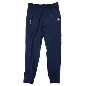 WNBA Adidas Official Authentic On-Court League issued Navy Warm Up Pants Women's