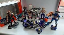 Job Lot Bundle Vintage Biker Mice From Mars Figures & Bike with box