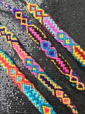 Boho Festival Yoga Hippie Friendship Bracelet - Woven Fairtrade Wool Wristbands
