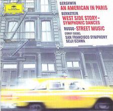 CD Gershwin Bernstein Russo Corky Siegel Seiji Ozawa An American In Paris