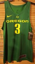 NWT $75 Nike Oregon Ducks #3 College Replica Basketball Jersey Men's Size Small