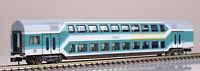 Fleischmann 8121 4-achsiger Doppelstockwagen 1./2. Klasse Spur N