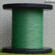 """1000m Green Stranded Ultra slim cable Dia. 0.28mm 0.011"""" Wires 7/0.05"""