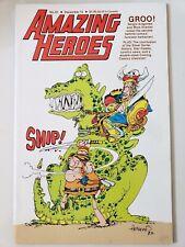 AMAZING HEROES COMICS MAGAZINE #61 1984 ORIGINAL SERGIO ARAGONES' GROO COVER!!!!
