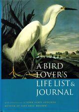 A Bird Lovers Life List & Journal