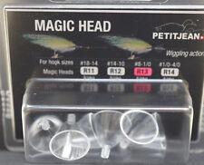 Marc Petitjean 6 St. MAGIC HEAD round R13 Hakengr. #8 - #1/0 MAGIC HEAD R13