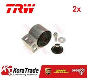 2x TRW JBU626 FRONT CONTROL ARM TRAILING ARM BUSH X2 PCS