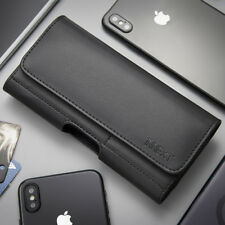 EXTRA LARGE PU LEATHER BELT CLIP HOLSTER POUCH CASE COVER XL FOR iPhone Samsung