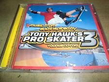 Tony HAWK'S PRO SKATER 3-COLONNA SONORA CD + CD-ROM NOFX sum 41 Deftones