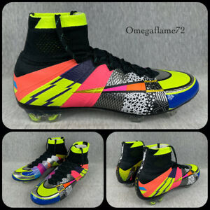 "Nike ""What The"" Mercurial Superfly SE FG, 835363-007 Sz UK 8, EU 42.5, US 9 Rare"