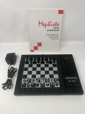 Mephisto Berlin Professional 68020 1994 Chess Computer Manual & Cord - WORKS