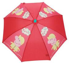 Ombrelli rosso per bambine dai 2 ai 16 anni