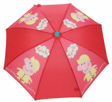 Paraguas de niña rojos