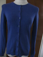 Bloomingdale's Women's Violet Blue Cashmere Cardigan Size Small NWT