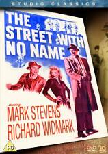 The Street With No Name. NEW SEALED. Dvd. Region 2. Richard Widmark