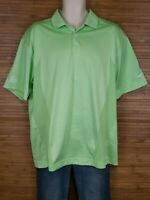 Nike Golf Green Dri-Fit Polo Shirt Mens Size Large L