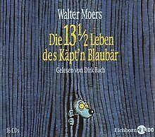 Die 13 1/2 Leben des Käpt'n Blaubär: Lesung. von Moers, ... | Buch | Zustand gut
