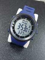 Orologio Polso ZCC Compass Digitale Sveglia Data Cronometro Sportivo Blu lac
