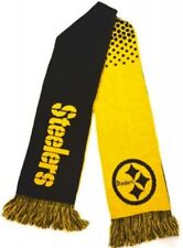 Forever Collectibles NFL Pittsburgh Steelers Wordmark écharpe NEUF