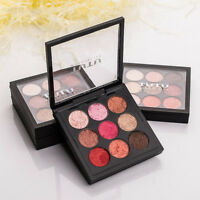 9Colors New Grapefruit Color Eye Shadow Makeup Shimmer Eyeshadow Palette Beauty#