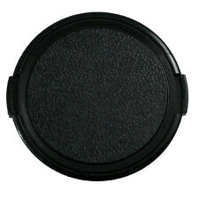 Durable Plastic 52mm Snap on Front Lens Cap Cover for Canon Filter Camera Black