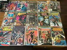 High Grade Marvel Bronze Age #1's Lot of 15: Krull, Vision, Dazzler.... NM-/NM+