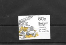 GB 1979 Leyland bomberos doblado Folleto de 50p FB9A