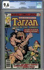 Tarzan #1 CGC 9.6 NM+ WHITE PAGES