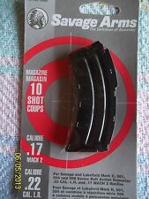 NEW 10 RD .22 LR Clip for SAVAGE ARMS & LAKEFIELD MODEL II, 501, 504, 900 rifle