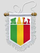 FANION VOITURE MALI FOOTBALL 13 X 15 CM ECUSSON