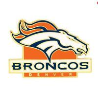 Denver Broncos Logo Pin NFL Football Metall Wappen Abzeichen,Crest Badge