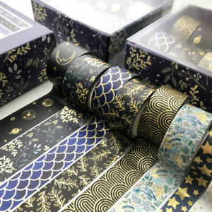 10Rolls/Set Supplies Scrapbook Paper Washi Tape Adhesive Stationery Tape  DIY