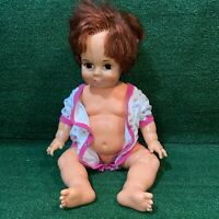 """Vintage 1972 Ideal Toy Co. Crissy Pull String Doll 23"""" GHB-H-225"""