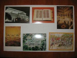 Lot of 18 Old Postcards, Drum beaten at Lexington Gutenberg Bible Archives +++
