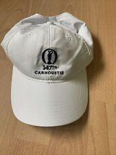 147th Carnoustie Open White Cap
