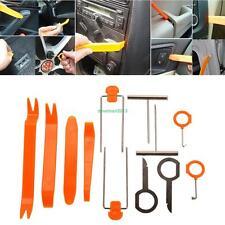 12pc Auto Car Radio Audio Door Panel Trim Dash Removal Installer Pry Clip Tool