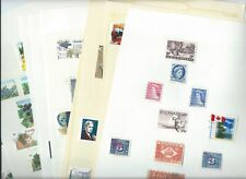 Canada stamps. Collection on 8 pages. Mainly used but some look MH.  . (M668)