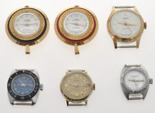 Lot of 6 vintage 1960 lady's mechanical manual wind watches, new old stock
