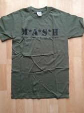 MASH T Shirt Size Small Mobile Army Surgical Hospital Olive Green NEW