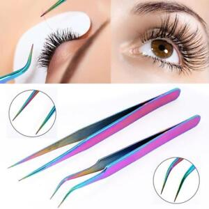 False Eyelashes Extension Applicator Remover Clip Tweezer Nipper Beauty Tool NEW