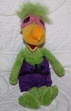 "11"" A & A Plush Green Pelican Toucan Bird White Water Branson Theme Park Animal"