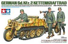 Tamiya German Sd.Kfz.2 Kettenkraftrad mid production 1:35 scale model kit 35377