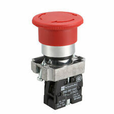 Red Mushroom Emergency Stop Push Button Switch Latching Nc Spst 415v 10a