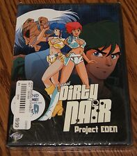 Original Dirty Pair - Project Eden (DVD, 2003) Animation ADV Films R1 Brand New