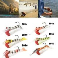 Shrimp Fishing Lures Artificial Shrimp Baits Soft Lure Bionic Bait Mode V8M0